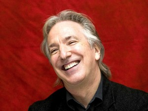 Alan Rickman Laughing